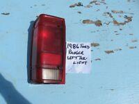 1983-1988 FORD RANGER LEFT TAIL LIGHT