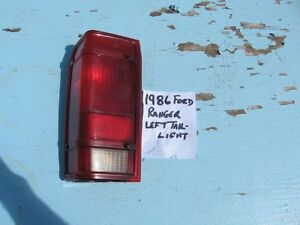 1983-1988 FORD RANGER LEFT and RIGHT TAIL LIGHT