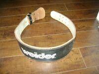 ceinture  WEIDER