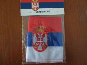 Serbia Antennae Flags