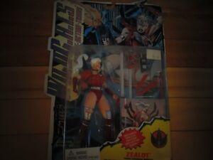 """Wildcats Action Figure """"Zealot"""" New In Box"""
