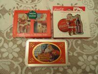 (6) Decks of Coca Cola Christmas Playing Cards