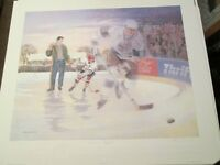 Wayne Gretzky - A Boy and His Dream Lithograph Celebrity Edition
