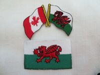 Wales Iron On Patches