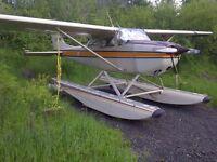 CESSNA 172K AIRCRAFT FOR SALE FLOATPLANE