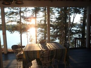 Blackstone Lake, quiet, seculed cottage