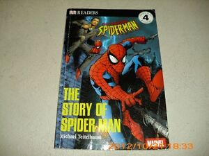 BEN 10 AND SPIDERMAN BOOKS VARIOUS TITLES