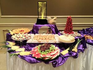 Wedding Cake, Hall decorations ,fruit and dessert table Windsor Region Ontario image 2