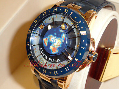 "Ulysse Nardin Moonstruck Rose Gold ""Trilogy"" Celestial Limited 500 pcs 1062-113"