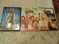 Hannah Montana DVD's