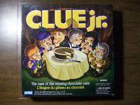 Jeu Clue Jr Age  5 + à 8 ans- Et Clue Age 8 +à adulte-