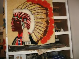 Indian Rug Wall Hanging Windsor Region Ontario image 1