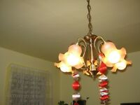 chandelier 5 Tulipês