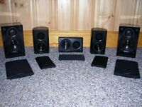 KLIPSCH and ENERGY home theater speaker system