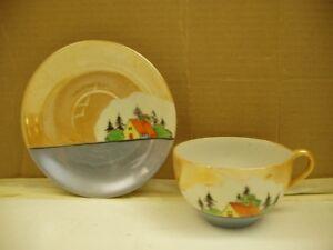 Occupied Japan Teacup & Saucer