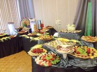 fruit and dessert table, wedding cakes,banquet halls décor