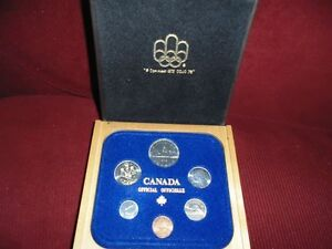1982 Coin Set From The Royal Canadian Mint