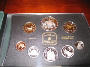 Royal Canadian Mint Proof Set 2001 Gatineau Ottawa / Gatineau Area image 4