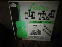 Fiddling Old Time And Country Style Johnny Brown on Vinyl
