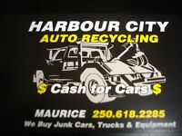 Cash for Scrap cars,truck,vans Harbourcity Auto CRUSHERS!!
