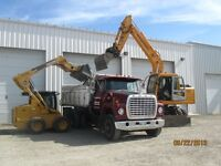 Bobcat, Excavator and Dump Truck Services