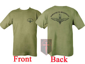 New Parachute Regiment T SHIRT Airborne Para ( US Marines SAS Army USMC