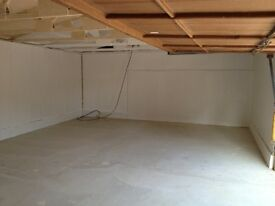 650sq' / 60m sq - newly refurbished barn for workshop or storage.