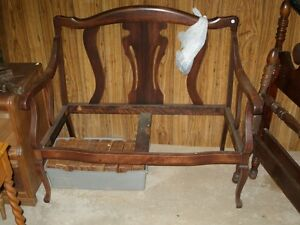 antique love seat frame reduced