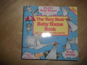 Livre 30,001 Noms (Baby Names)