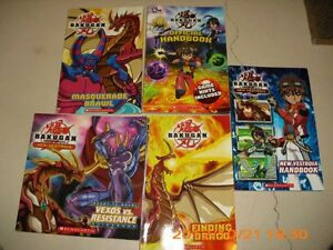 BAKUGAN OFFICIAL HANDBOOKS AND SERIES BOOKS