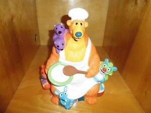 Bear In The Big Blue House Talking Cookie Jar