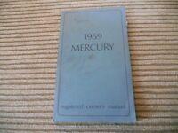 1969 MERCURY OWNERS MANUAL