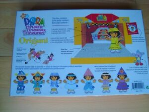 Dora The Explorer Origami - The Art Of Folding Paper- Sealed New Kitchener / Waterloo Kitchener Area image 2