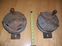 Vintage blasting and detonator wire spools
