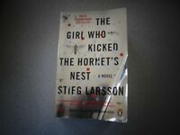 The Girl Who Kicked The Hornet's Nest Book