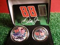 Dale Jr. Colourized Coin Set