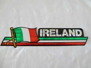 Ireland Flags, Pins, Patches, Stickers