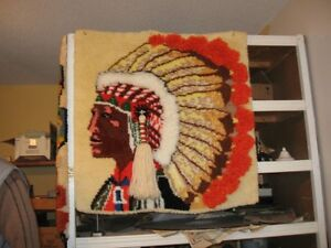 Indian Rug Wall Hanging Windsor Region Ontario image 2