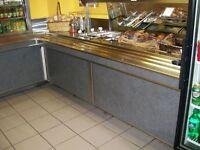 Table froid a buffet cafe ou bar 6' en acier inoxydable