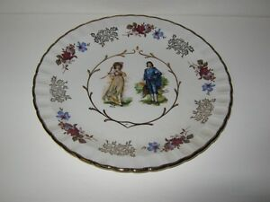 PINK LADY & BLUE BOY PLATE