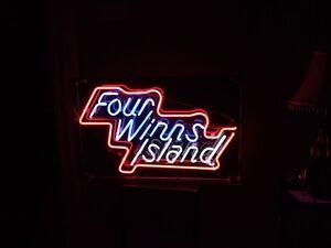 four winns island neon Belleville Belleville Area image 2