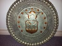 decorative USA airforce solid metal - $30(metro)