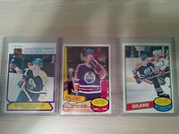 Lot Of 3 1980 O-Pee-Chee Wayne Gretzky Cards