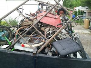 HOUSEHOLD ITEMS,E-WASTE,DEBRIS,METAL,BATTERIES, ETC WE TAKE IT!