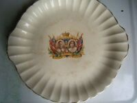 canadian made king george iv, corrination plate 1937