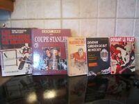 livre  HOCKEY  /coupes Stanley/ Lafleur Guy /Canadien Mtl.poste