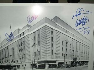 Toronto Maple Leafs Print Signed by 5 Leaf Captains