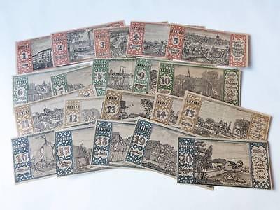 kleiner Posten Notgeld  BERLIN   1921  Notgeldscheine  X113