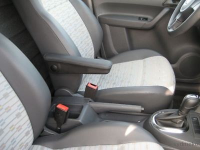 VW POLO 6R 2009 MITTELARMLEHNE GRAU TEXTIL KFZ PKW AUTO ARMLEHNE VOLKSWAGEN