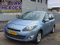 7 SEATER 2010 RENAULT GRAND SCENIC 1.5 DCI+S40,A3,SUZUKI,SKODA,VAUXHALL,FORD,FIAT,PEUGEOT,CITROEN